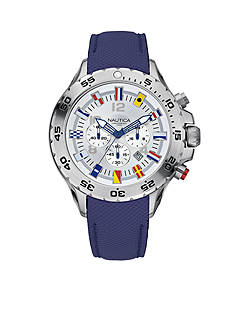 Nautica NST Chronograph Flag Watch