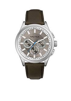 Nautica Men's NCT 17 Grey Chronograph Watch