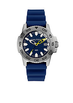 Nautica Men's Blue Silicone Watch