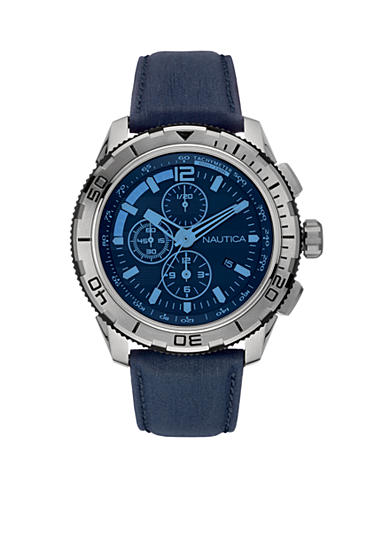 Nautica Men's Navy Chronograph Watch