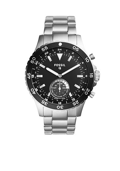 Fossil Q Men's Fossil Q Crewmaster Stainless Steel Hybrid Smartwatch