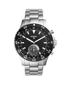Men's Fossil Q Crewmaster Stainless Steel Hybrid Smartwatch