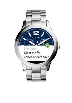 Fossil Men's Q Founder Display Stainless Steel Watch