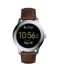 Fossil Q Founder Touchscreen Leather Smartwatch