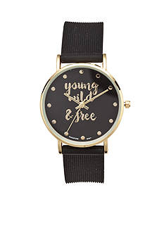 A Classic Time Watch Co. Women's Young Wild & Free Watch