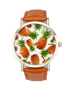 A Classic Time Watch Co. Women's Pineapple Watch