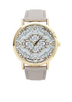 A Classic Time Watch Co. Women's Gray Tribal Watch