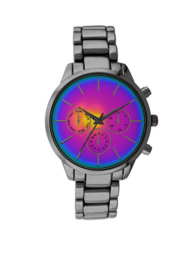 A Classic Time Watch Co. Women's Black Multicolor Watch