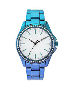 A Classic Time Watch Co. Women's Blue Ombre Metal-Tone Watch