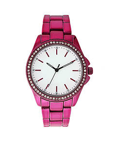A Classic Time Watch Co. Women's Pink Ombre Metal-Tone Watch