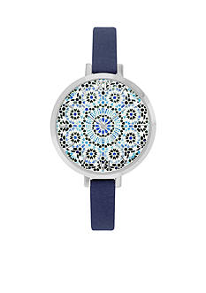 Jessica Carlyle Women's Sunburst Watch