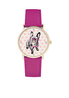 Jessica Carlyle Women's Dog Dial Watch
