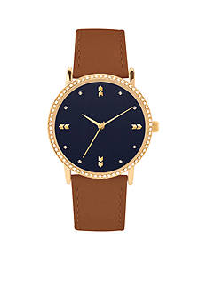 American Exchange Women's Arrow Dial Strap Watch