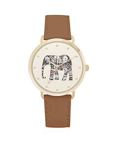 American Exchange Women's Brown Elephant Dial Watch