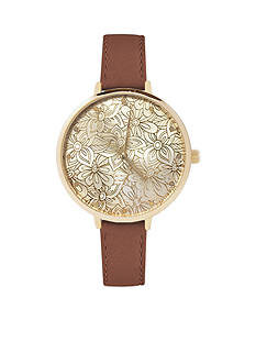 American Exchange Floral Watch