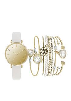 American Exchange Women's Watch and Bracelet Set