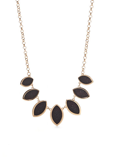 New Directions® Gold-Tone Stingray Collar Necklace