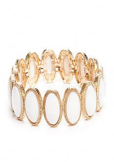 New Directions Gold-Tone Coastal Stretch Bracelet