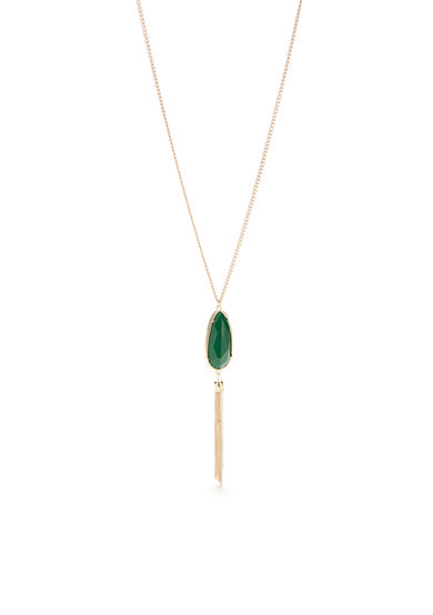 New Directions® Tranquility Long Tassel Pendant Necklace