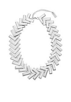 Steve Madden Metal Arrowhead Necklace