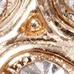 Jewelry & Watches: Earrings Sale: Gold PET FRIENDS Crystal Paw Print Stud Earrings