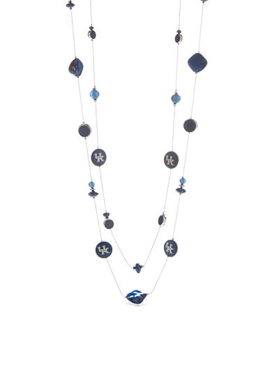 accessory PLAYS® Silver-Tone Kentucky Wildcats Illusion Necklace