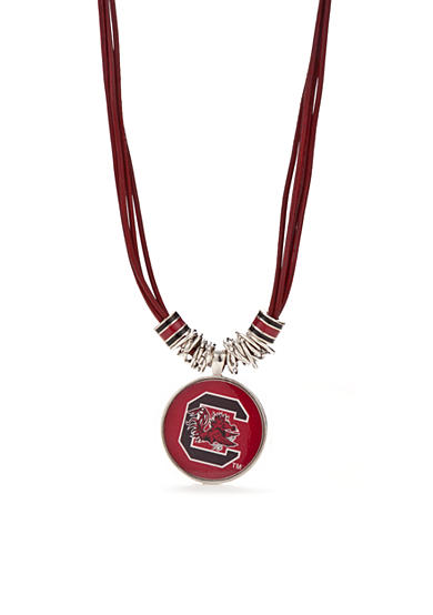 accessory PLAYS® Silver-Tone South Carolina Gamecocks Pendant Necklace
