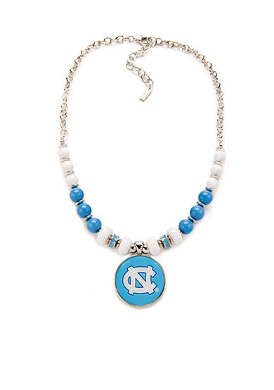 accessory PLAYS® Silver-Tone UNC Tar Heels Pendant Necklace