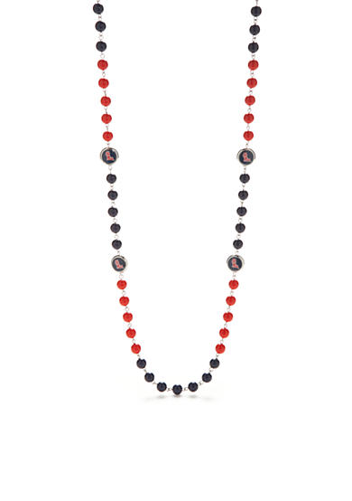 accessory PLAYS® Silver-Tone Ole Miss Rebels Beaded Long Necklace