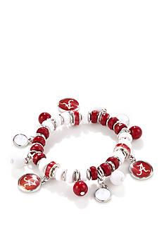 accessory PLAYS Silver -Tone Alabama Crimson Tide Bracelet