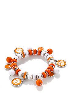 accessory PLAYS Silver-Toned Clemson Tigers Bracelet