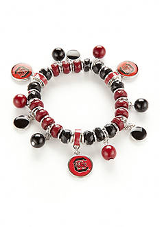 accessory PLAYS Silver-Tone South Carolina Gamecoks Bracelet