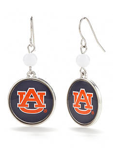 accessory PLAYS Silver-Tone Auburn Tigers Earrings