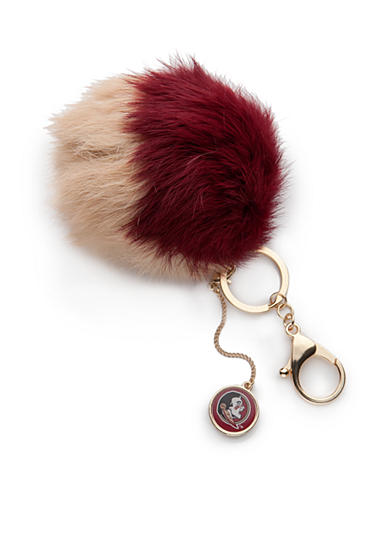 accessory PLAYS® Florida State Seminoles Pom Pom Key Chain