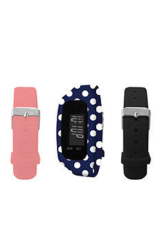 B FIT WATCH® Polka Dot LCD Tracker Watch