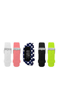 B FIT WATCH Polka Dot LCD Tracker Watch