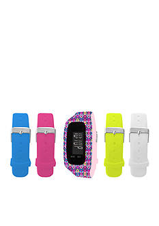 B FIT WATCH Women's Interchangeable Straps Fitness Tracker Watch Set