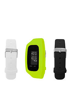 B FIT WATCH® Green LCD Tracker Watch