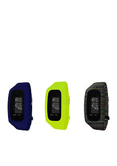 B FIT WATCH Men's Interchangeable Strap Fitness Tracker