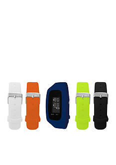 B FIT WATCH Men's Navy LCD Tracker Watch