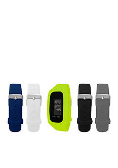 B FIT WATCH Men's Fitness Tracker Lime/Black/Orange/Blue/Grey Straps Watch