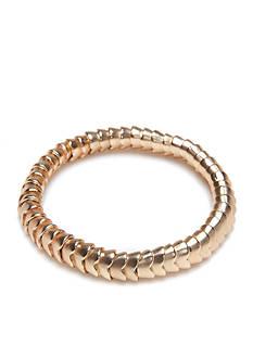 true Gold-Tone Arrow Stretch Bracelet