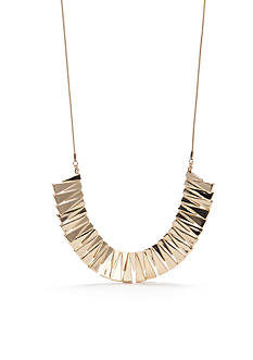 true Gold-Tone Statement Necklace