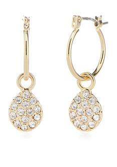 Vera Bradley Pave Drop Earrings