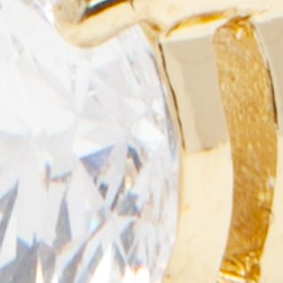 Jewelry & Watches: Vera Bradley Fashion Jewelry: Gold Vera Bradley Cubic Zirconia Stud Earrings