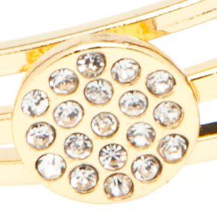 Jewelry & Watches: Vera Bradley Fashion Jewelry: Gold Vera Bradley Stackable Trio Bangle Bracelet