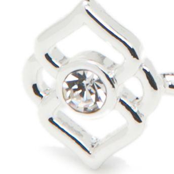 Jewelry & Watches: Vera Bradley Fashion Jewelry: Silver Vera Bradley Signature Cuff Bracelet