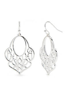 Vera Bradley Signature Drop Earrings