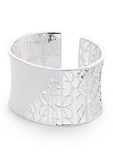 Vera Bradley Signature Wide Cuff Bracelet