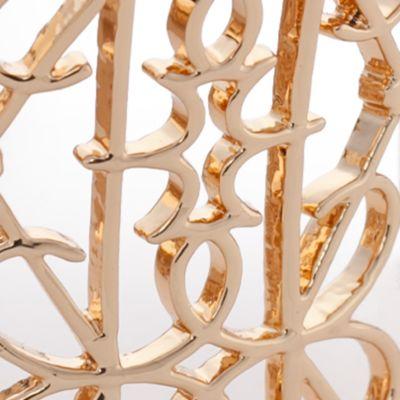 Cuff Bracelets for Women: Yellow Vera Bradley Signature Wide Cuff Bracelet